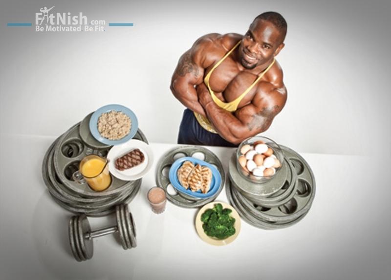 Johnnie Jackson diet and training