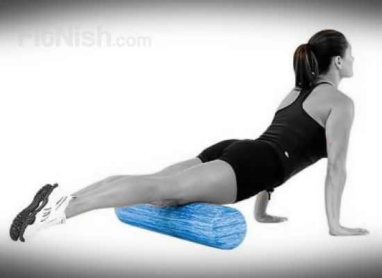 Using the Foam roller for your thighs