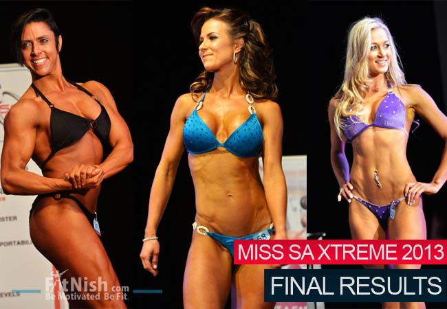 Miss SA Xtreme 2013 - Final Results