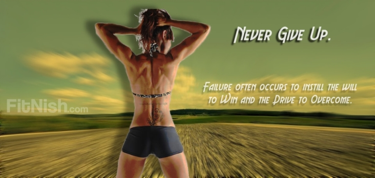 Dani Waterston Never Give up Fit Girl