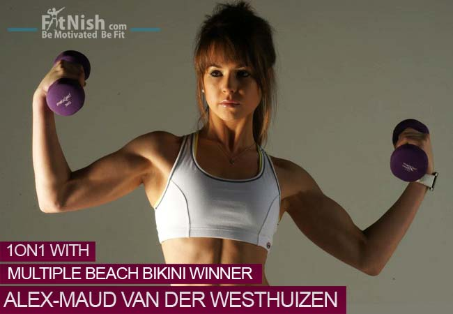One on One With 20 Year Old, Multiple Beach Bikini Winner,  Alex-Maud van der Westhuizen