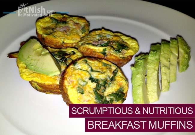 Scrumptious, Nutritious, Breakfast Muffins