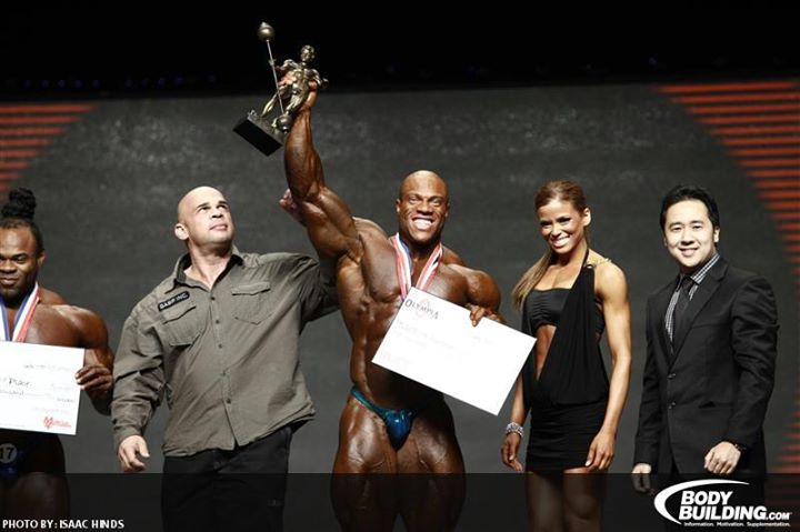 Phil Heath Olympia win