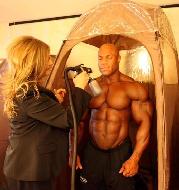 Phil Heath Tanning
