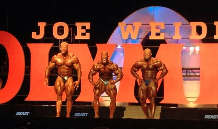 phil heath kai greene dennis wolf posing