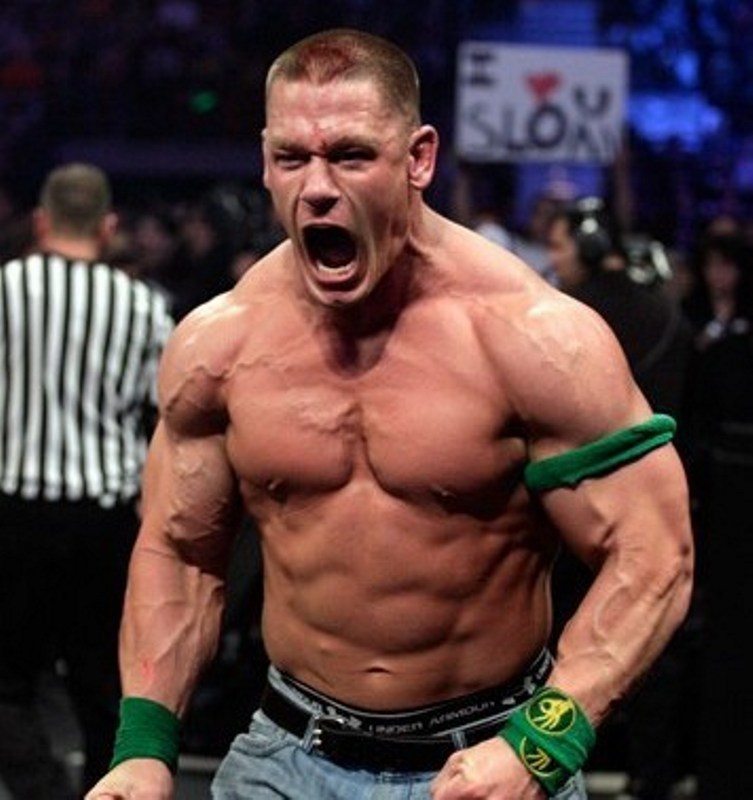 Jone Cena ripped veins flexed