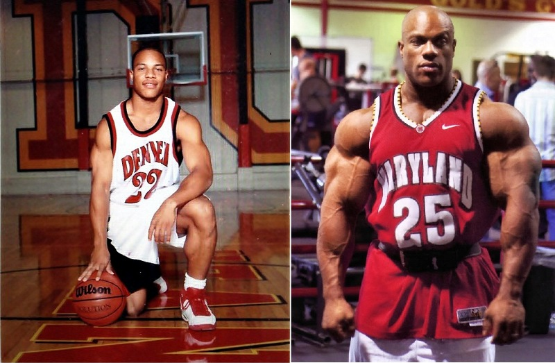 Phil heath before and after