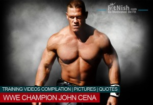 WWE Champion John Cena | Training Clips | Pictures | Quotes