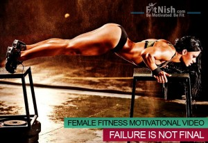Inevitable Failure Female Fitness Motivational Video Failure Is Not Final