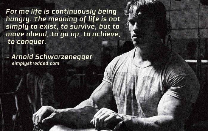 Arnold-Schwarzenegger posing quote