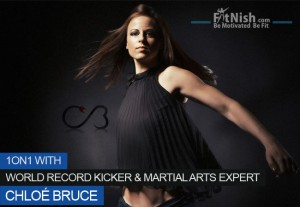 One on One With Guinness World Record Kicker And Martial arts Expert Chloé Bruce