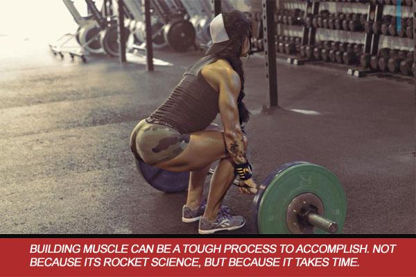 training heavy female athlete