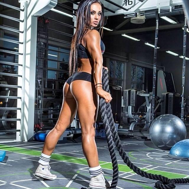 Female leg routine
