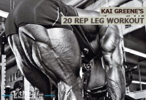 Kai Greene Leg Workout