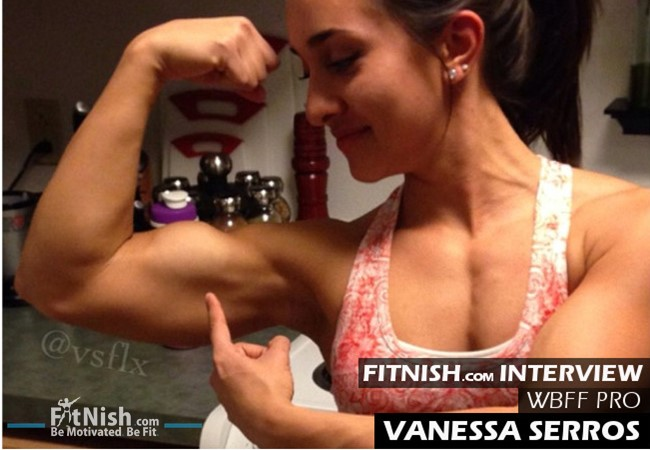 One On One With Former Gymnast And WBFF Pro, Vanessa Serros