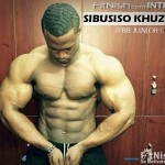 Fitnish.com Interview With Junior Bodybuilding Champion, Sibusiso Khuzwayo