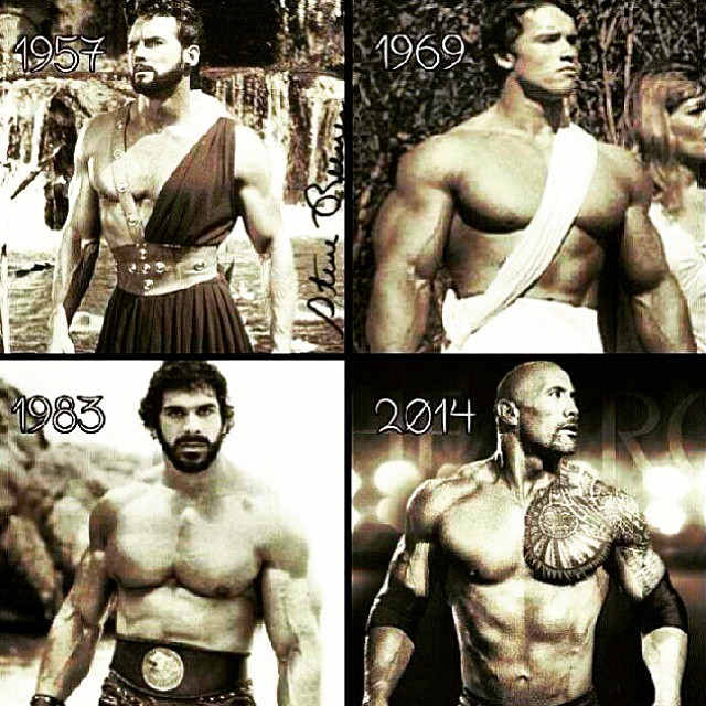 Be great. @therock @schwarzenegger  #louferrigno #actionstars #greatness #thehulk #therock #rippedphysique #rippedabs #shreddedabs #fitbody #begreat #mrolympia #bodybuilder  #ifbb  #bodybuilding  #workhard  #bodybuilding #nevergiveup #work #workyourassoff  #motivation #BEMOTIVATED #gymmotivation #rippedphysique #quotes #quote #succeed #success  #fitness #bestrong ??