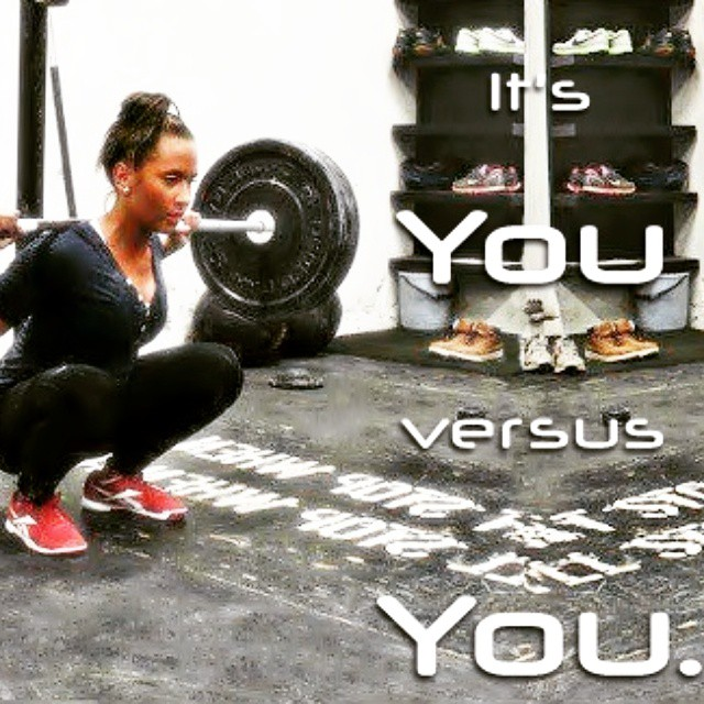 It's YOU versus YOU. @suzannesvanevik  #fitandflexible  #begreat #fitgirls #girlswithmuscle #girlswithabs #girlsthattrain #quads #squats #girlsthatsquat #workhard  #bodybuilding #nevergiveup #work #workyourassoff  #motivation #BEMOTIVATED #gymmotivation #rippedphysique #quotes #quote #succeed #success  #fitness #bestrong ??