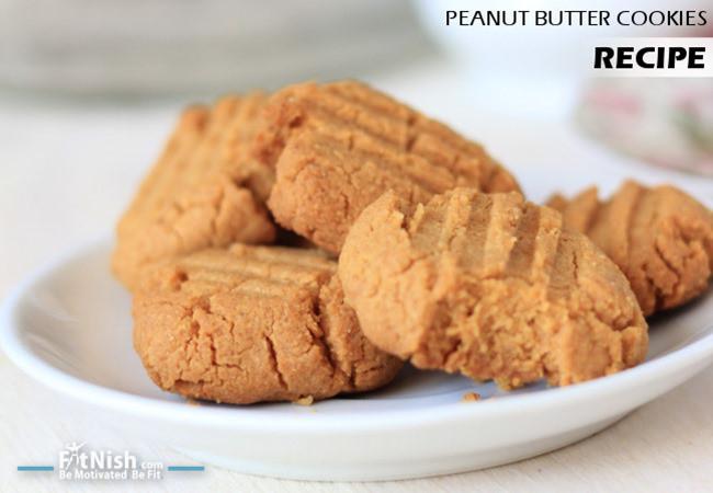Healthy Peanut Butter Cookies Recipe