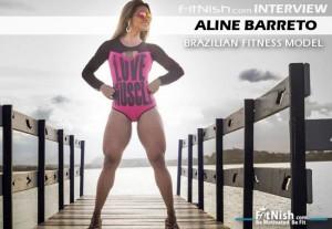One On One With IFBB Brazilian Fitness Model, Aline Barreto