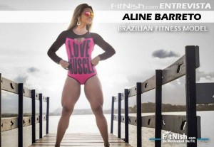 Fitnish.com Interview With IFBB Brazilian Fitness Model, Aline Barreto