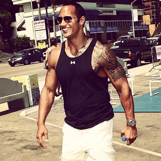 The great one. #therock @therock ? #rippedphysique #rippedabs #shreddedabs #fitbody #begreat #bodybuilding  #workhard  #bodybuilding #nevergiveup #work #workyourassoff  #motivation #BEMOTIVATED #gymmotivation #rippedphysique #quotes #quote #succeed #success  #fitness #bestrong ??