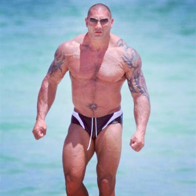 The animal #batista looking mean in his #wwe days! ??? #rippedphysique #rippedabs #fitguys #guysthattrain #guysthatsquat #shreddedabs #fitbody #begreat #mrolympia #bodybuilder  #ifbb #bodybuilding  #workhard  #bodybuilding #nevergiveup #work #workyourassoff  #motivation #BEMOTIVATED #gymmotivation #rippedphysique #quotes #quote #succeed #success  #fitness