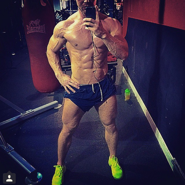 Impressive proportions by @tomaszsurgot ??? #rippedabs #fitguys #guysthattrain #guysthatsquat #shreddedabs #fitbody #begreat #mrolympia #bodybuilder  #ifbb #bodybuilding  #workhard  #bodybuilding #nevergiveup #work #workyourassoff  #motivation #BEMOTIVATED #gymmotivation #rippedphysique #quotes #quote #succeed #success  #fitness