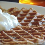 High Protein, Healthy Banana & Egg Waffles Recipe