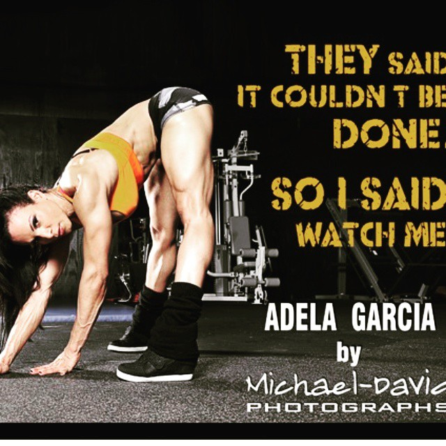 Don't listen to anyone who says you can't! #adelagarcia ?? #fitgirls #girlswithmuscle #girlswithabs #girlsthattrain #quads #girlsthatsquat #workhard #bodybuilding #nevergiveup #work #workyourassoff #motivation #BEMOTIVATED #gymmotivation #fitspo #success #fitness #bestrong #fitnish #girlswholift #fitnessgirls #fitnessmotivation