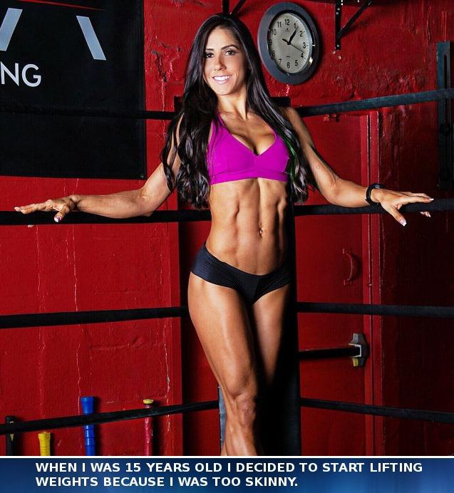 Brazilian Fitness Model & NPC Bikini Champion, Angelica Teixeira
