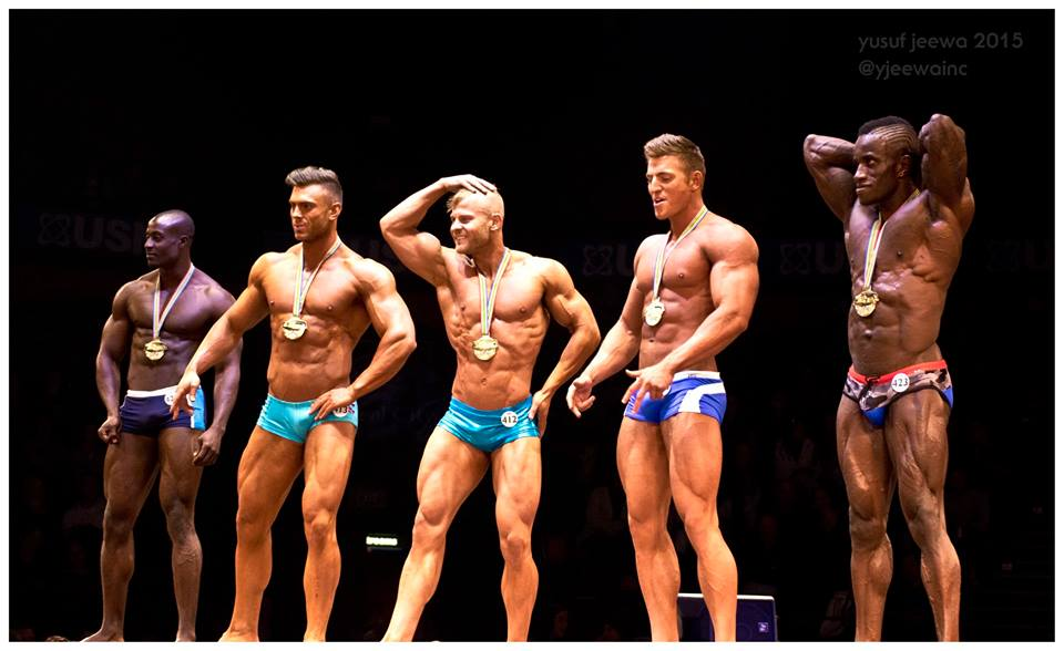 WBFF SOUTH AFRICA 2015 TOP 5 RESULTS AND PRO CARD WINNERS