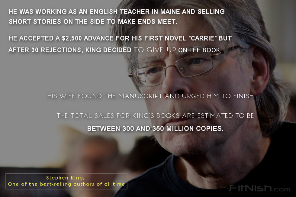 stephen king facts story