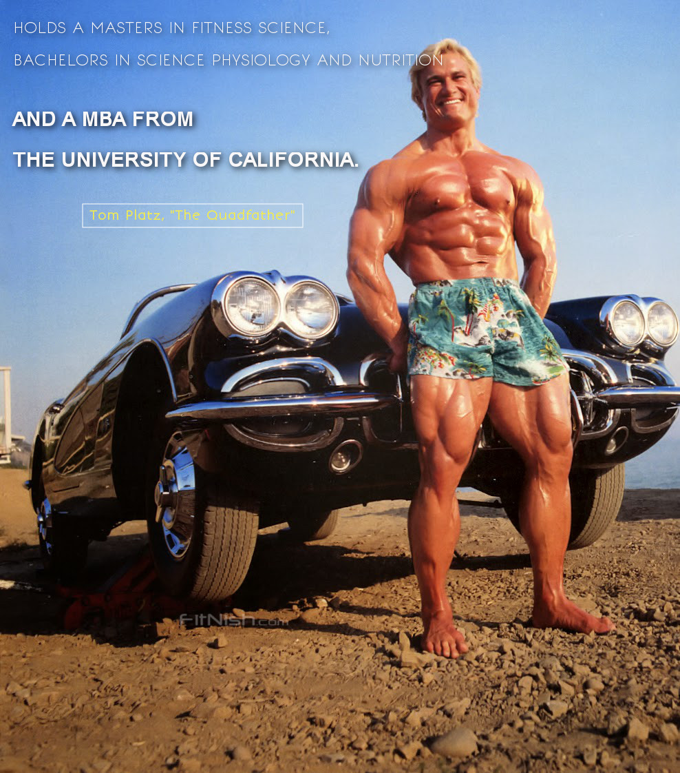 tom platz facts story