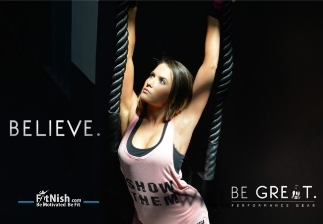 Introducing BE GREAT. Performance Gear