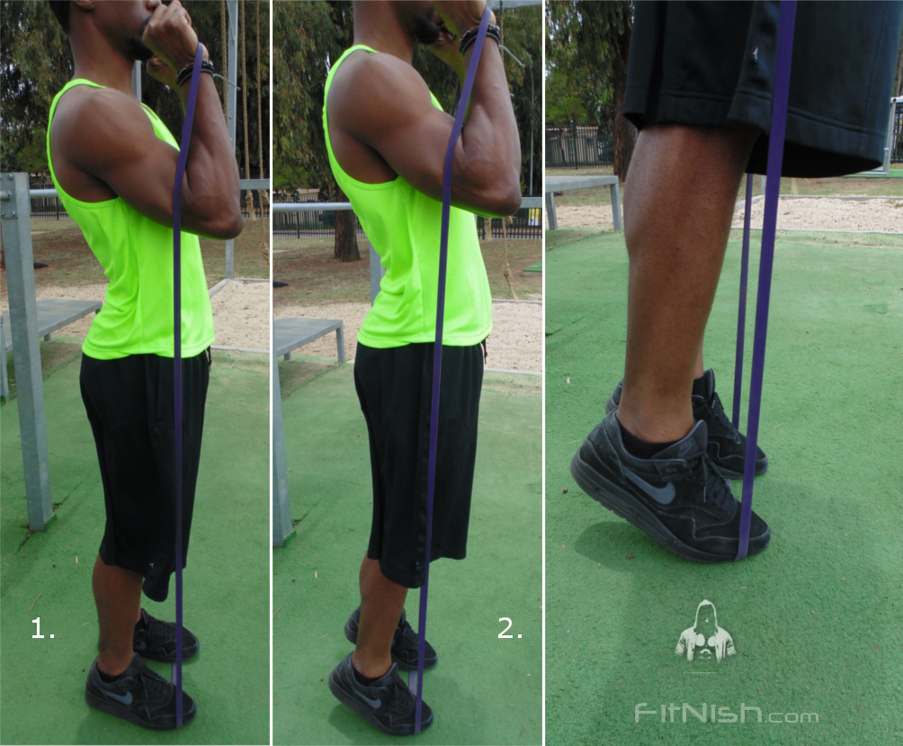 how to do band assisted calves