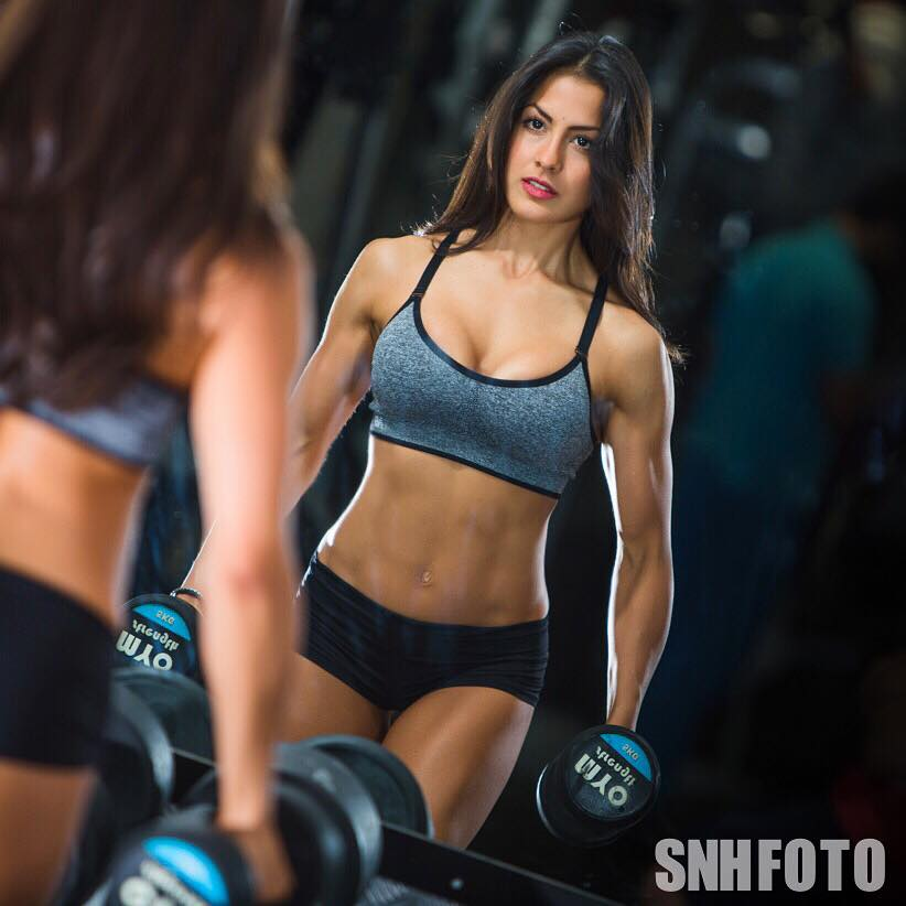 Shoulder Training Tips And Shoulder Workout By WBFF Pro, Cristina Silva