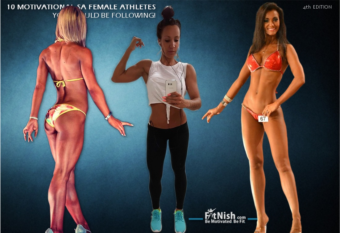 10 Motivational SA Female Athletes You Should Be Following! 4th Edition