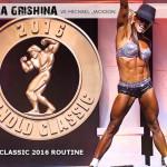Oksana Grishina vs. Michael Jackson | Arnold Classic 2016