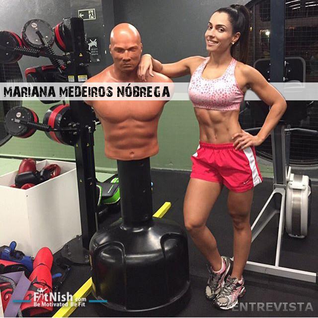 The Fit Beleza Brasileiro, Mariana Medeiros Nóbrega Entrevista [Portuguese Interview]
