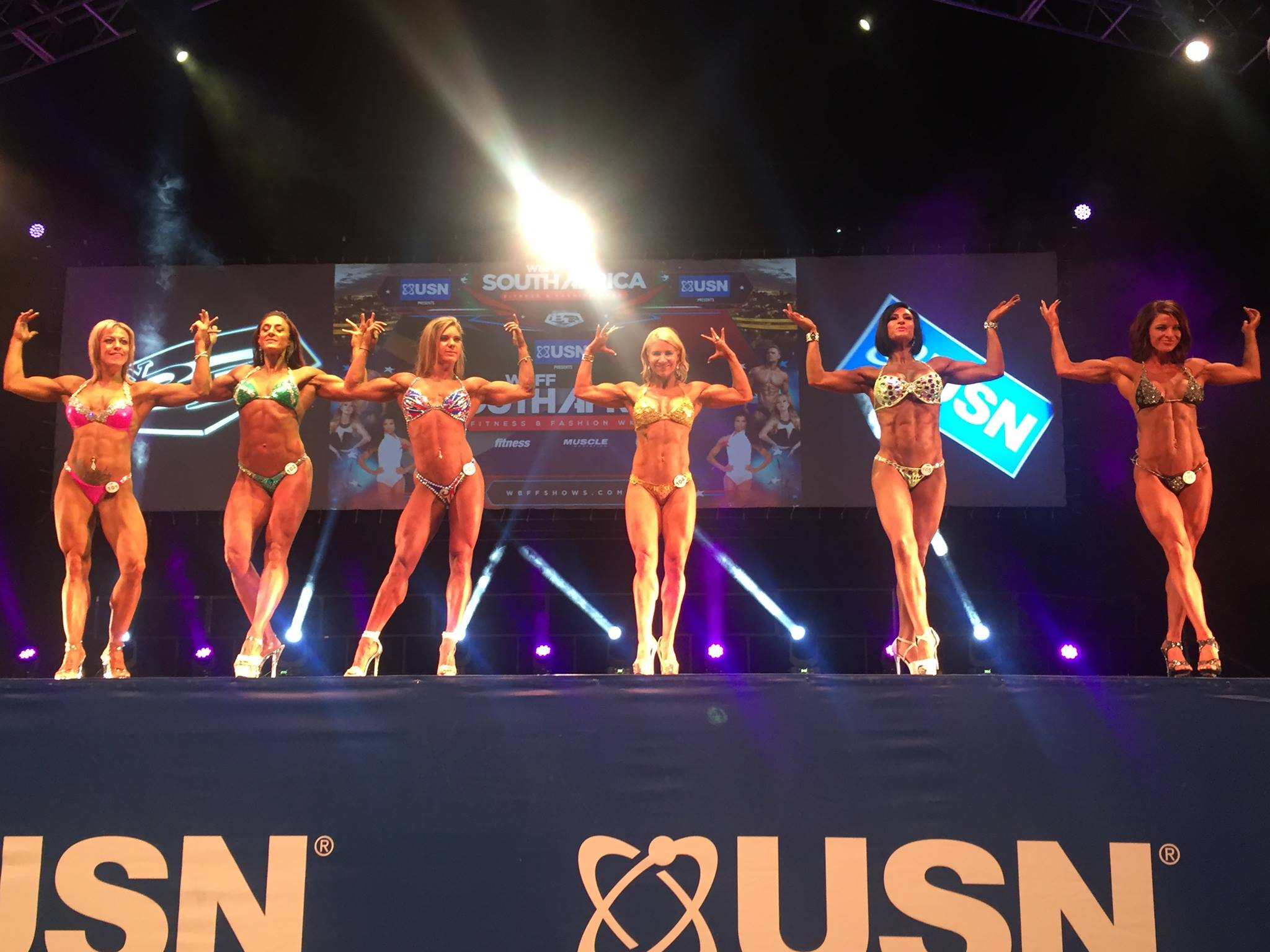 WBFF SOUTH AFRICA 2016, RESULTS AND PRO CARD WINNERS | FitNish com