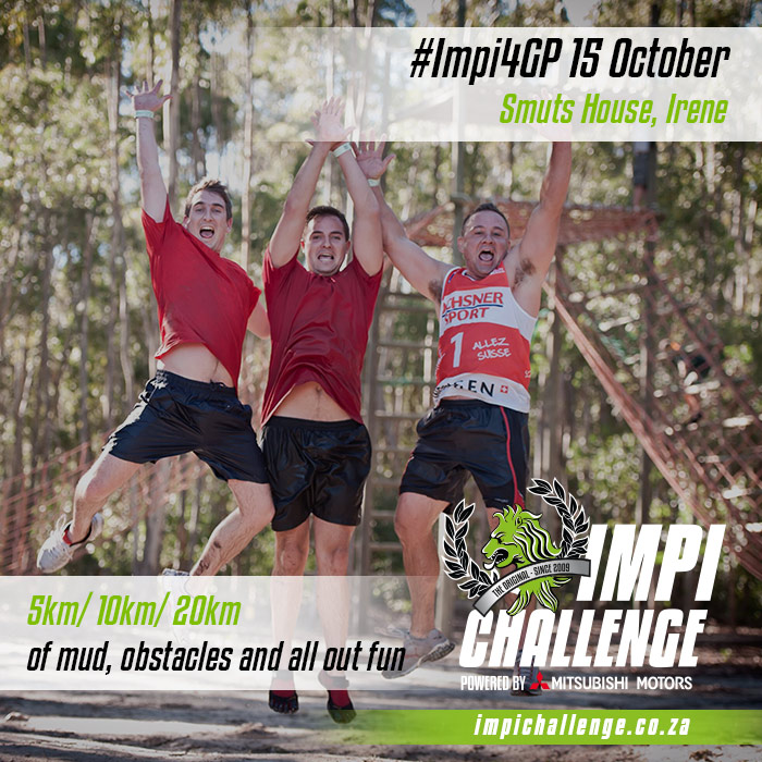 The Impi Challenge and Festival Obstacle Trail Run!