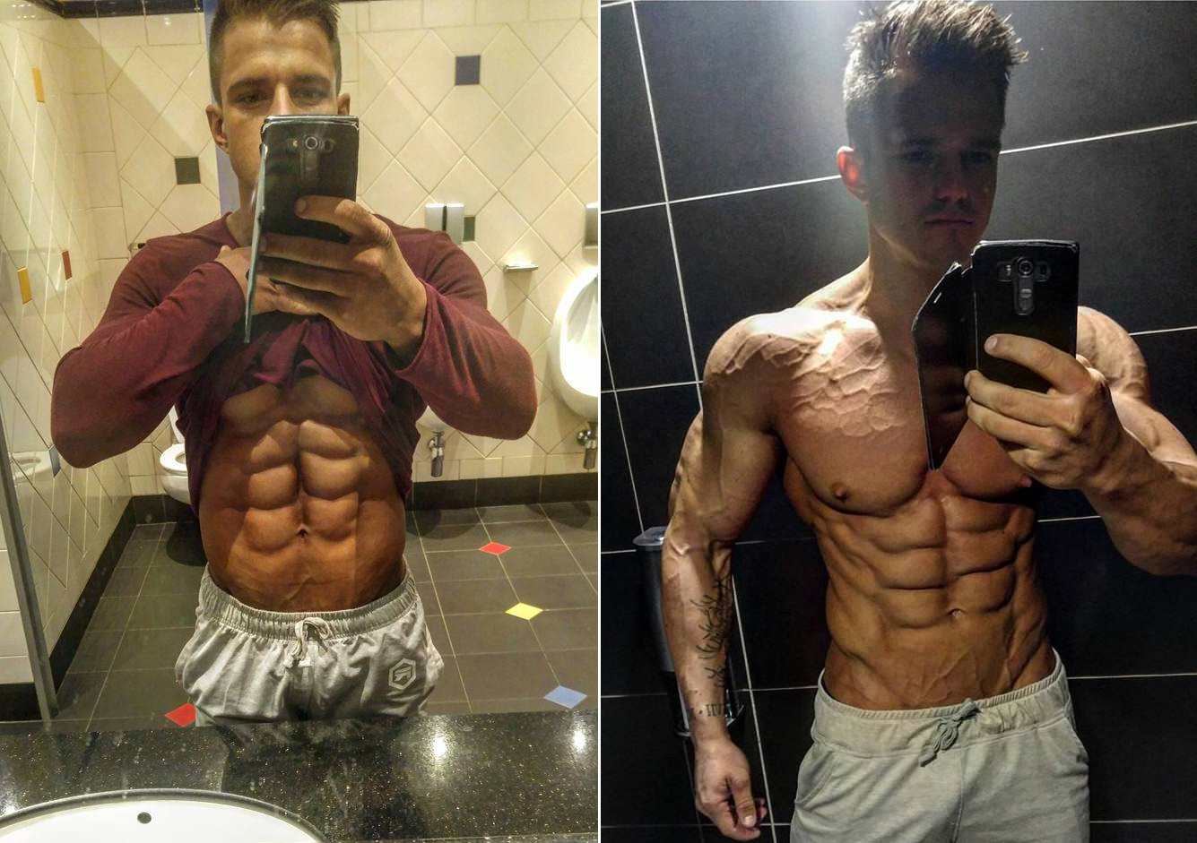 David Watkeys Takes Us Through His Chest And Abs Workouts! + Tips!