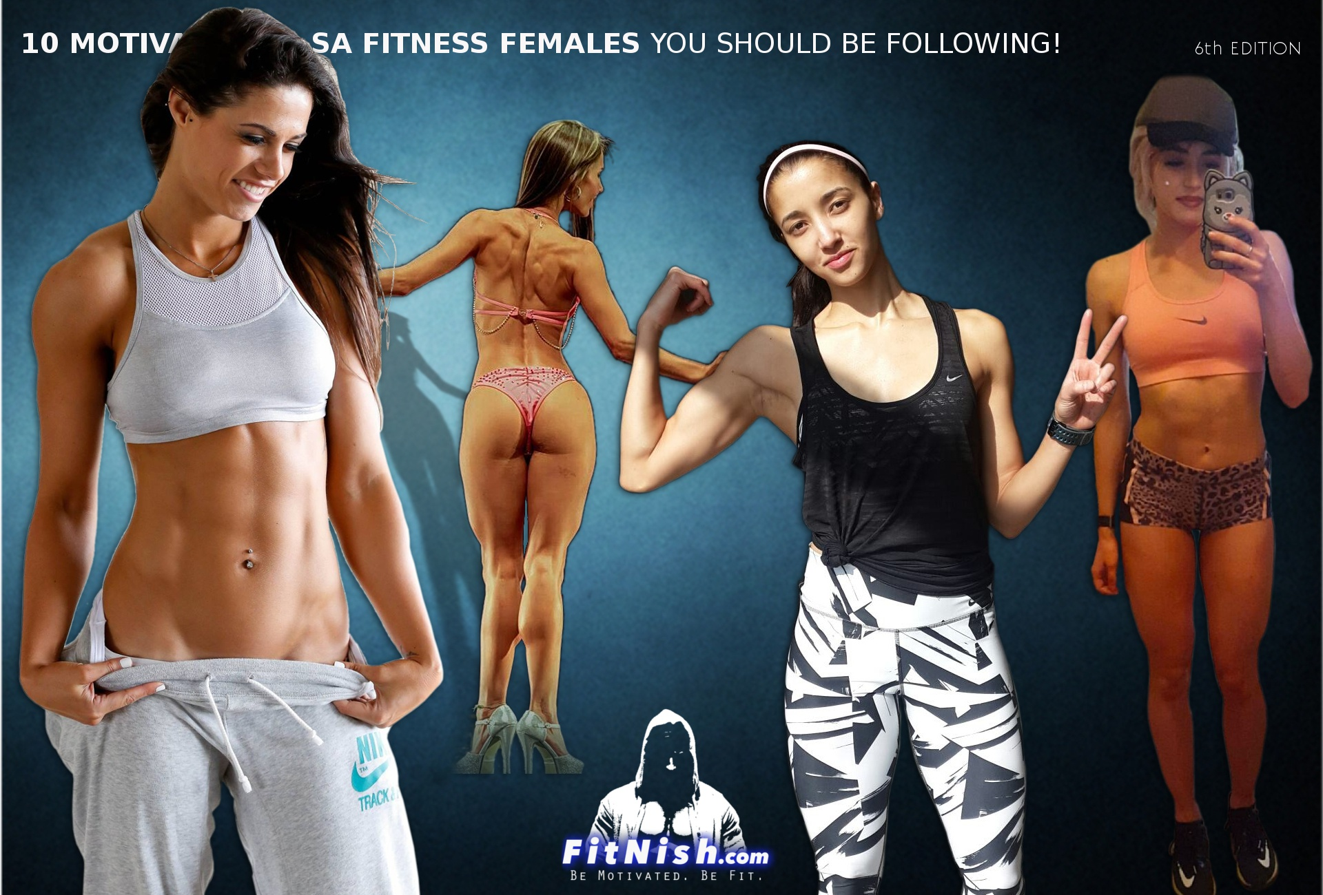 10 Motivational SA Fitness Females You Should Be Following! 6th Edition