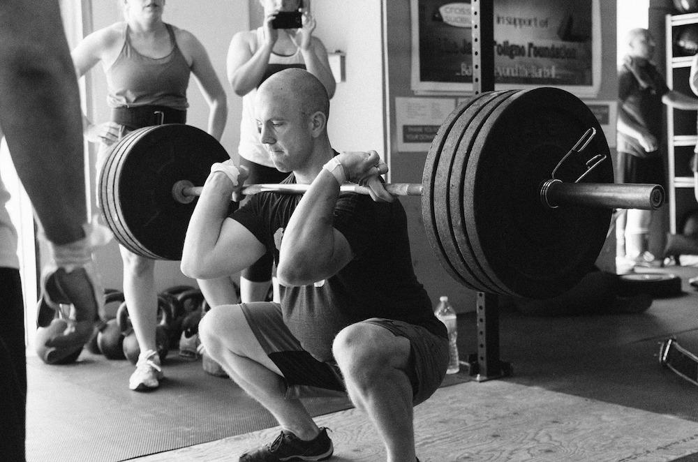 front squats form