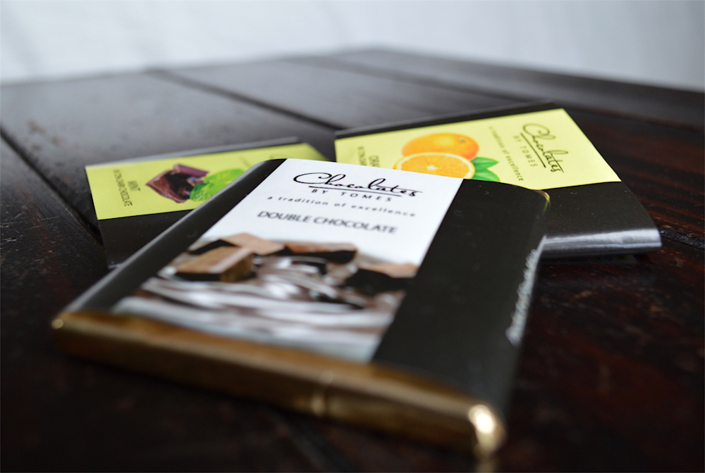 Chocolates by Tomes 72% Cocoa Dark Chocolate Review