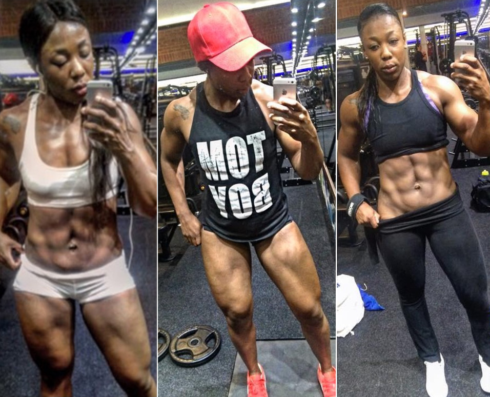 Legs And Abs Training With Zinhle Masango!
