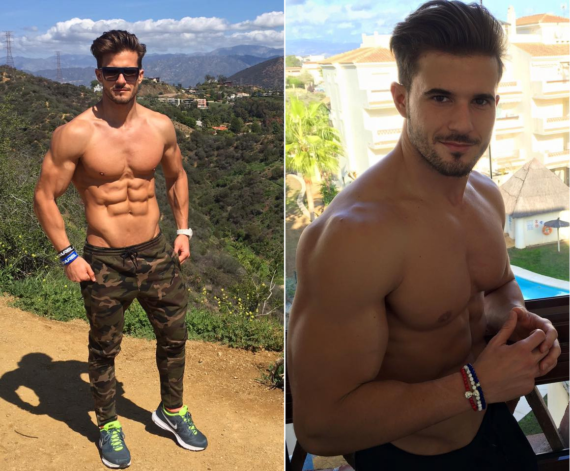 Fitness Model And Technical Industrial Engineer, Antonio Pozo Motivation