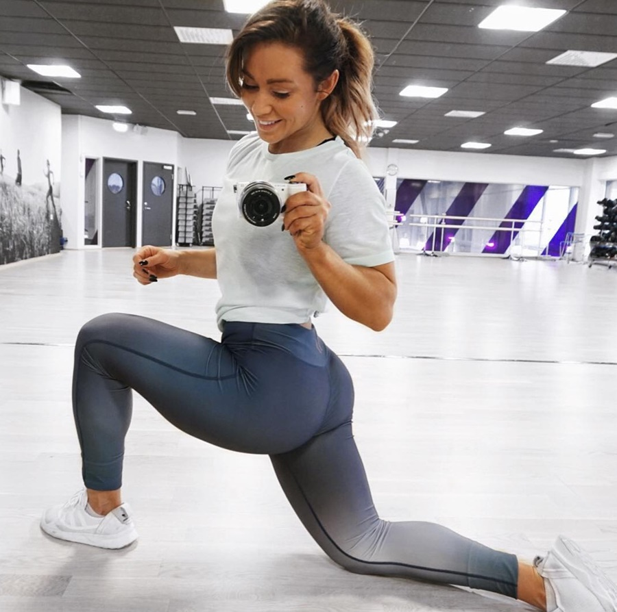 Gymshark Athlete, Hanna Oeberg Motivation