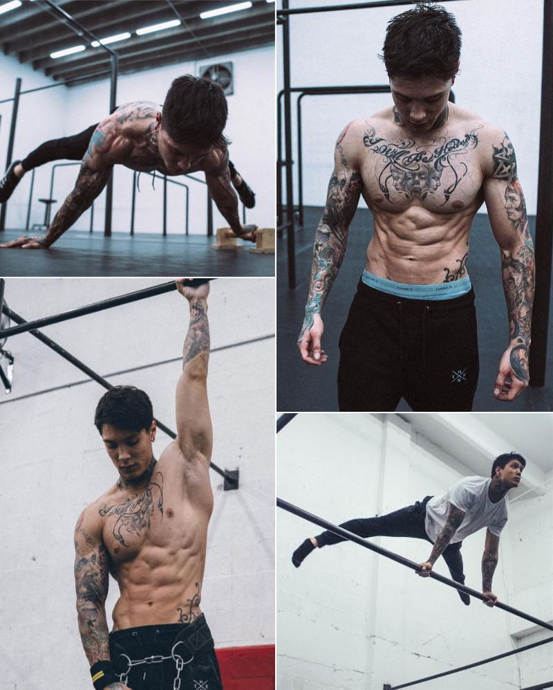 Thenx Athlete, Chris Heria Motivation! | Clips & Pictures